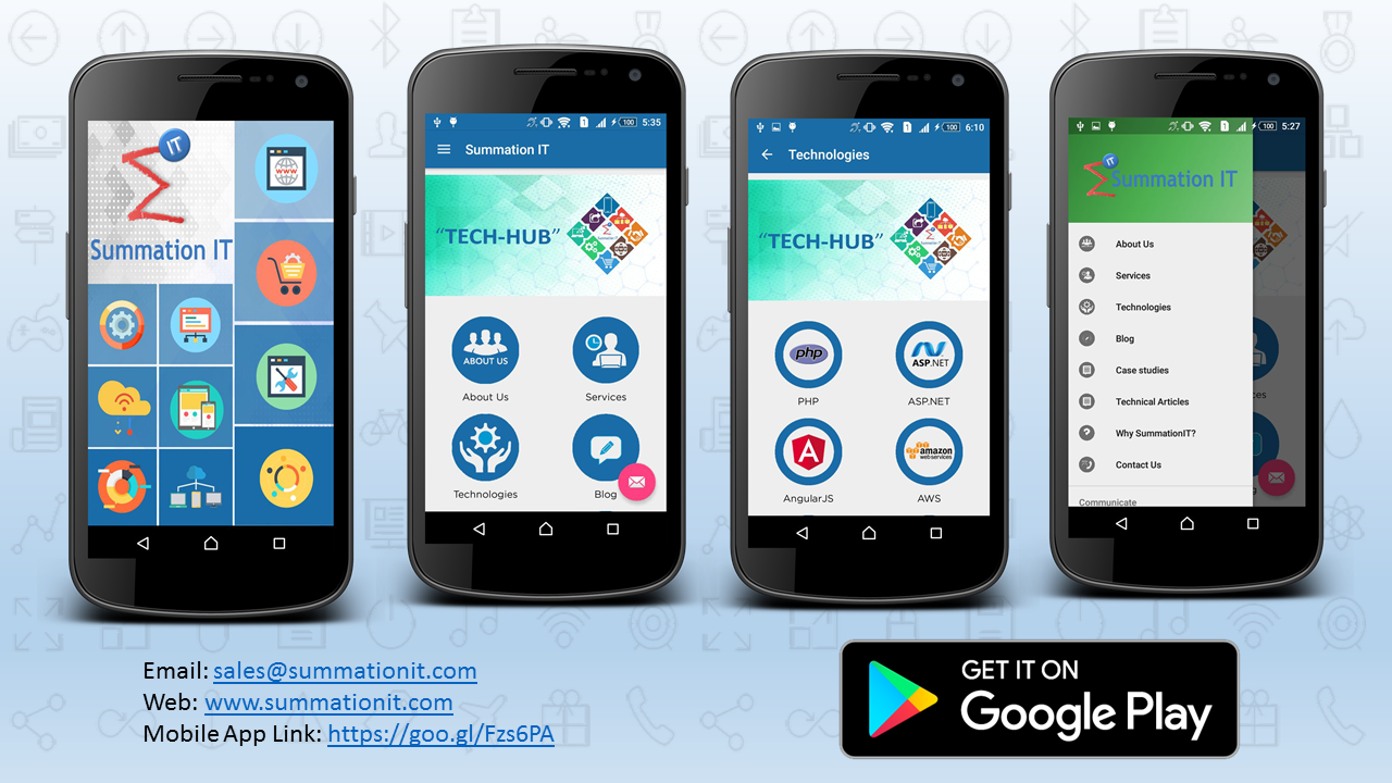Summation IT Launches Mobile Application for Android